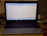spss statistics on laptop