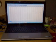 spss statistics on laptop