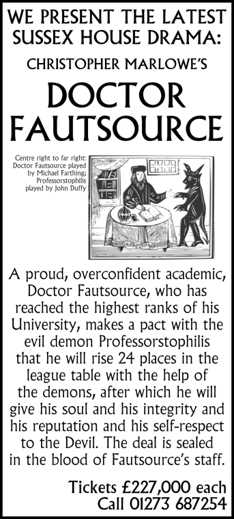 sussex-university-michael-farthing-john-duffy-outsourcing-plan-doctor-fautsource