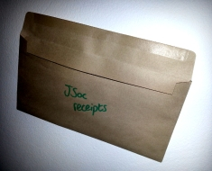 Not THAT sort of brown envelope.