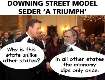downing street model seder