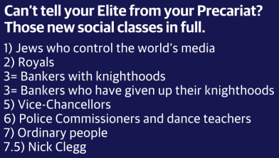 social classes precariat