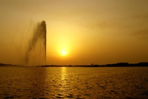 King Fahd's Fountain, near Jeddah