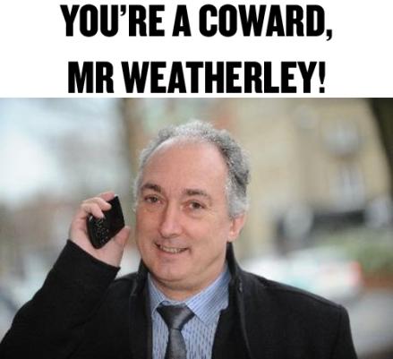 mike weatherley coward