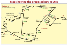 brighton and hove buses consultation map