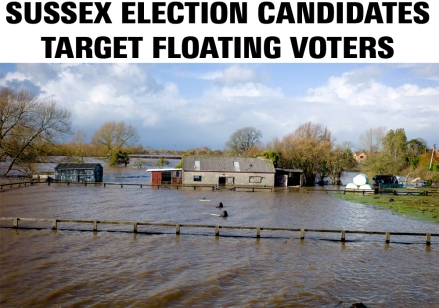 sussex election candidates target floating voters