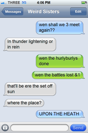 macbeth text messages