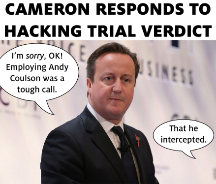 cameron hacking trial response andy coulson