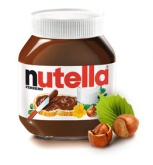 A family that wants to name its child after a chocolate spread: may contain nuts.