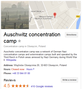 auschwitz reviews