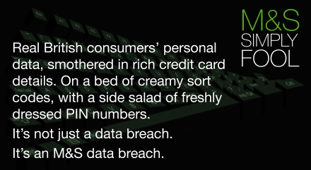 marks and spencer data breach
