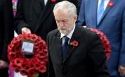 Corbyn: fallen in action