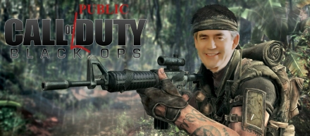 call of duty - gordon brown
