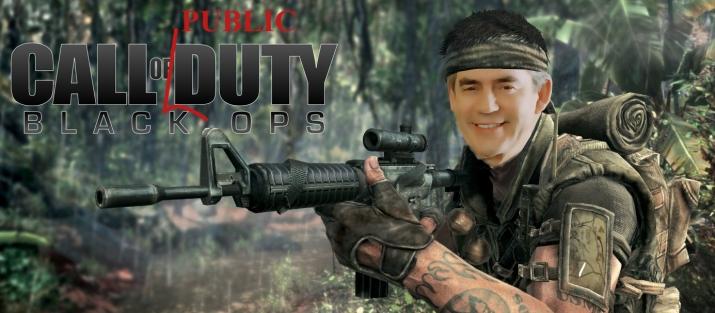 call of duty - gordon brown
