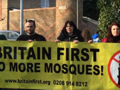 The entirety of Britain First's membership