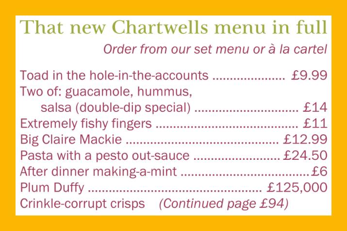 chartwells-sussex-food-menu