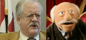 Roger Helmer MEP (right)